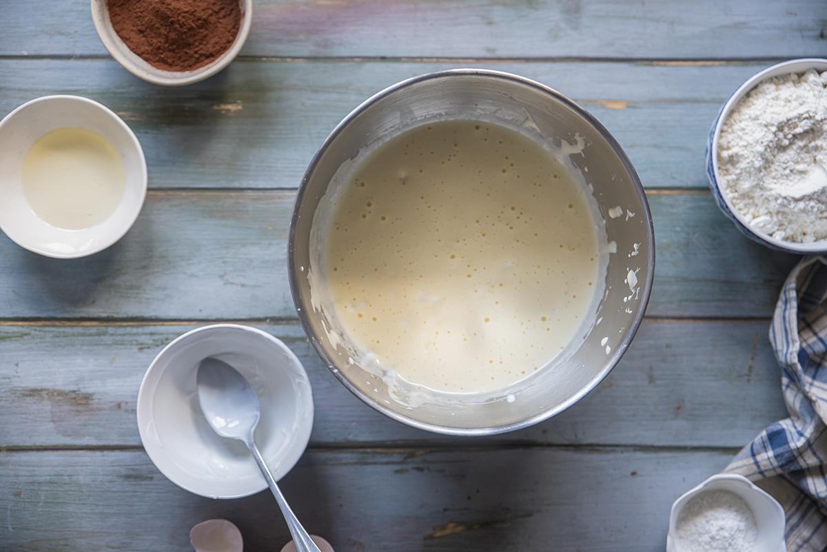 preparazione uno plumcake