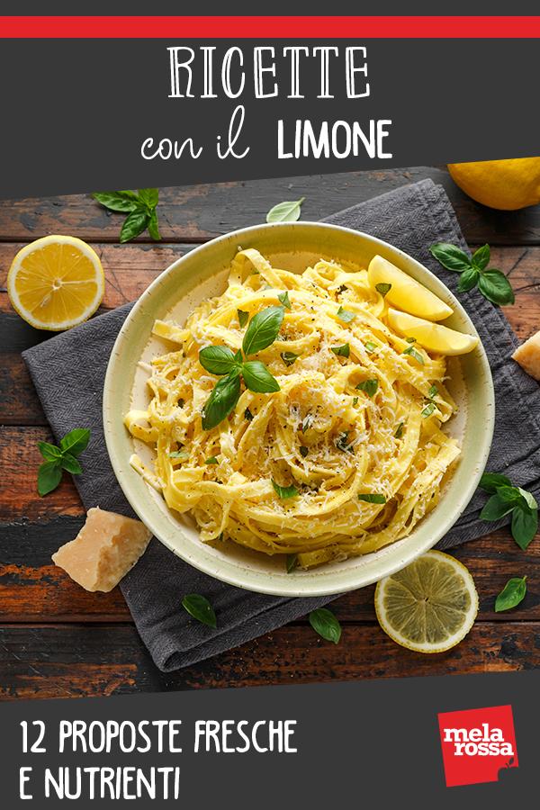 ricette con limone: proposte sane e leggere