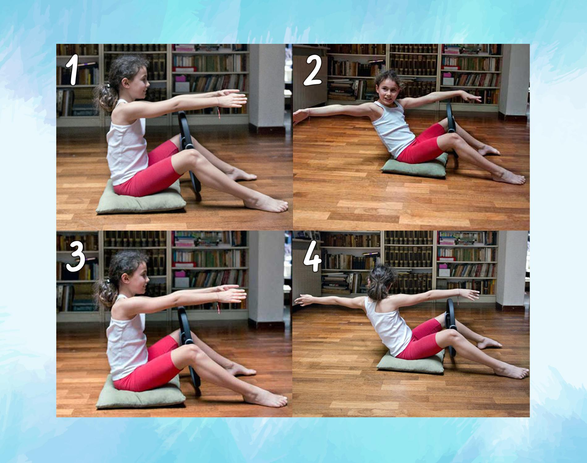obliqui esercizi col ring pilates