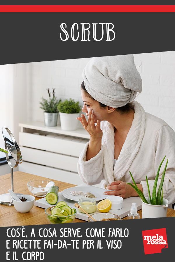scrub: viso e corpo cos'è benefici come farlo e ricette fai-da-te