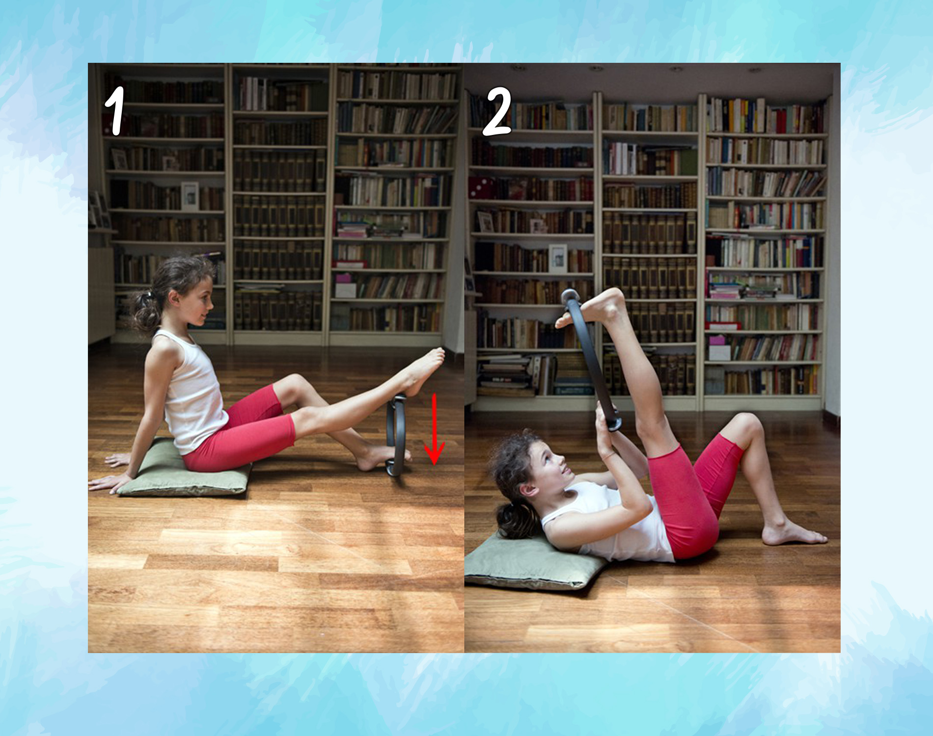 muscoli ischio crurali : ring pilates