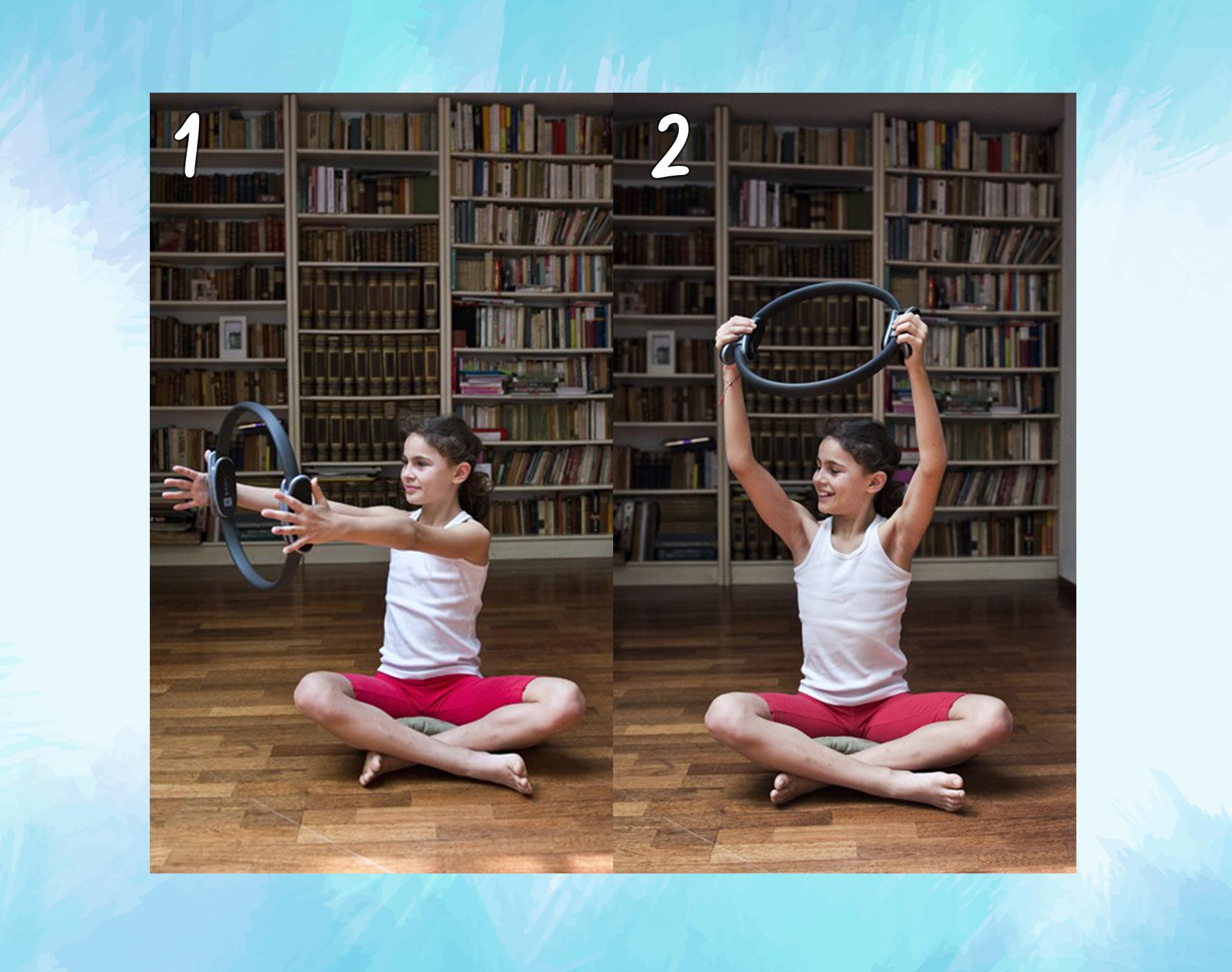 spine twist: ring pilates