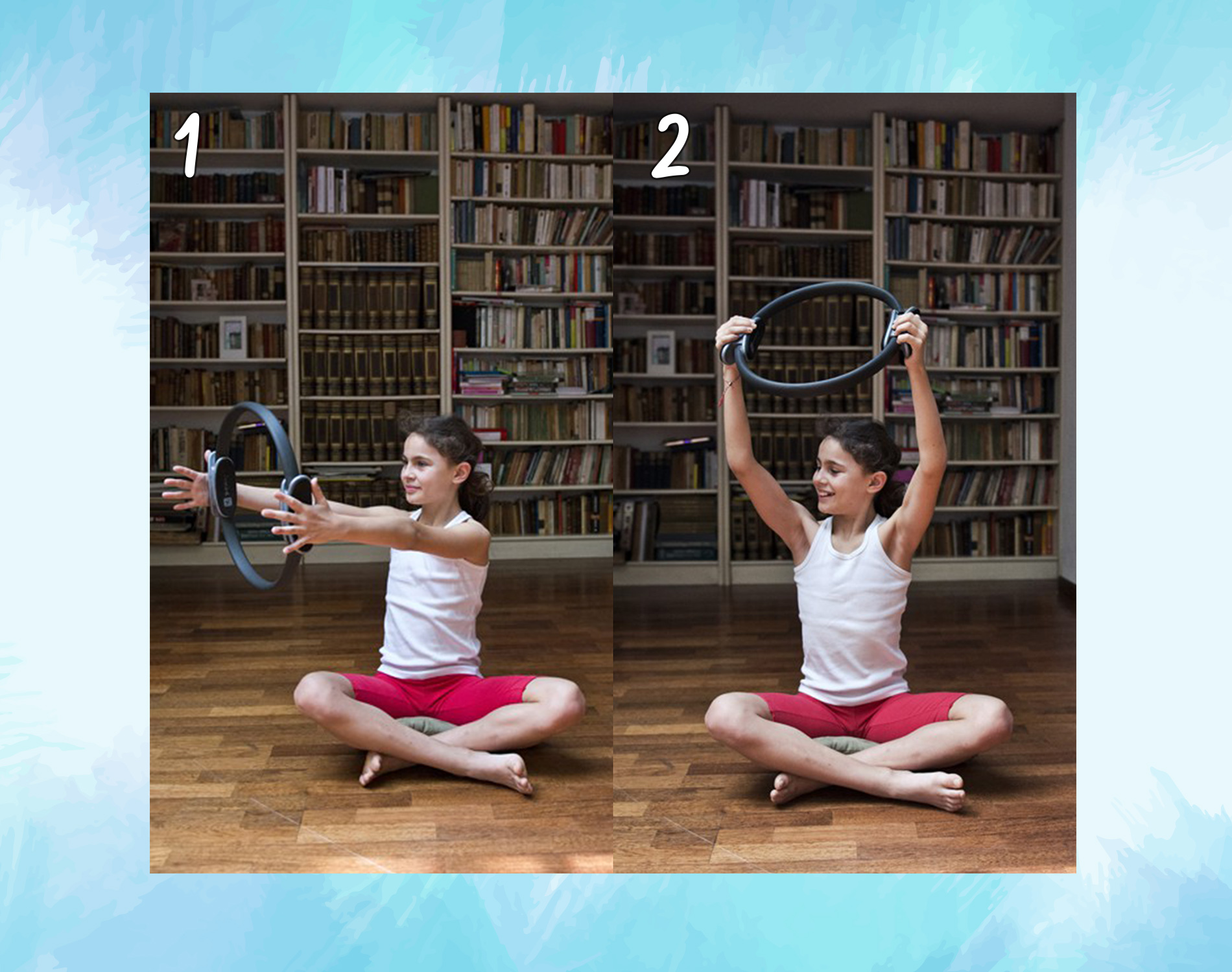 spine twist: ring pilates