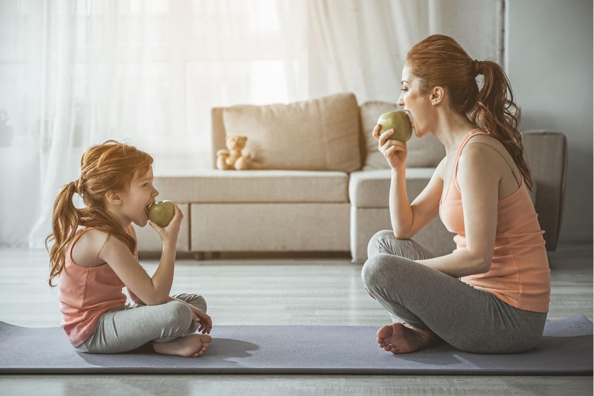 sport a casa cosa mangiare prima e dopo allenamento