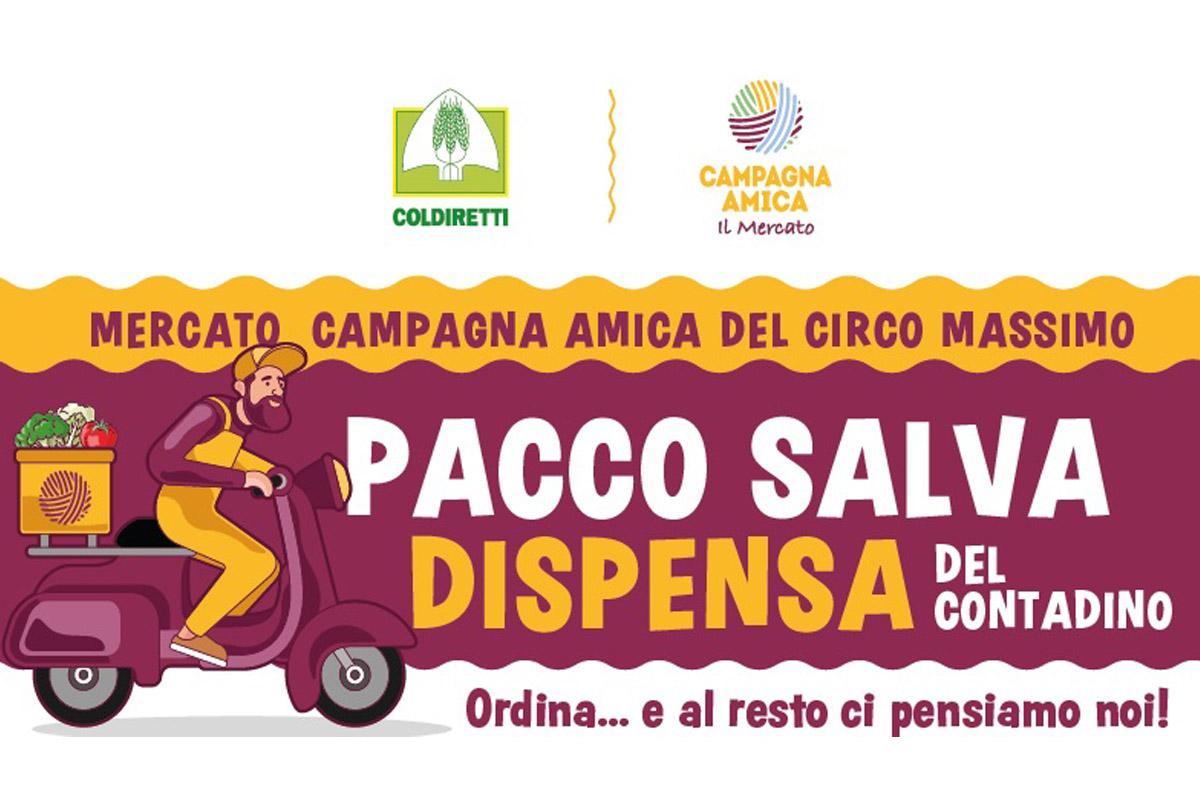 Campagna Amica Pacco Salva Dispensa a domicilio Roma