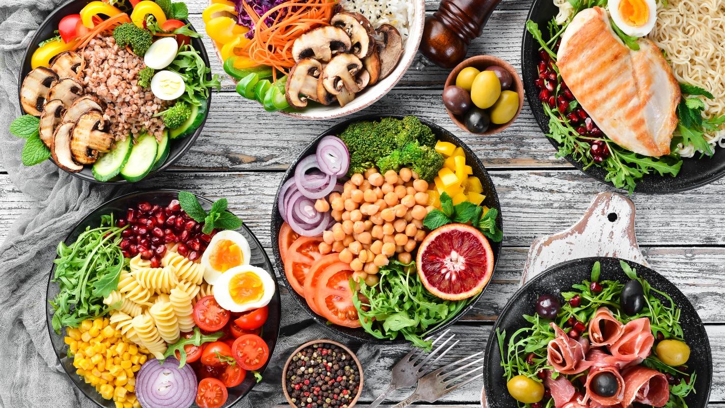 cibi salutari: dieta mediterranea