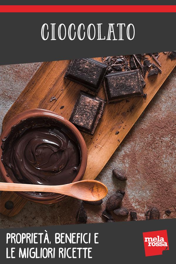 cioccolato: valori e benefici e ricette