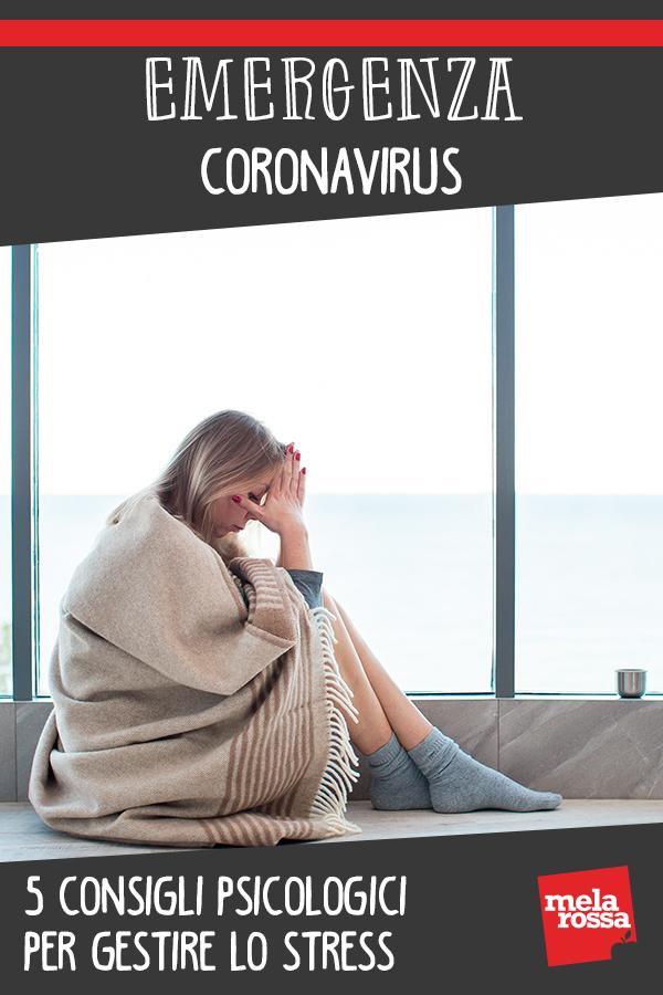 Coronavirus consigli psicologici stress