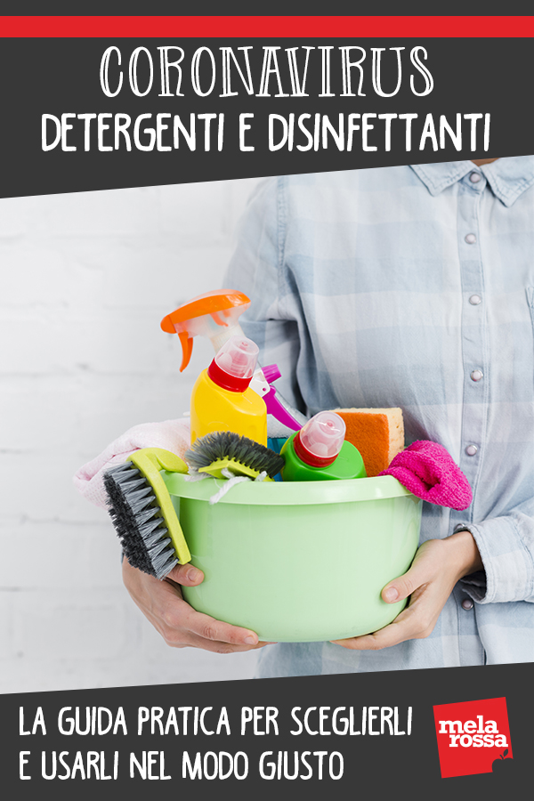 Coronavirus: guida detergenti disinfettanti