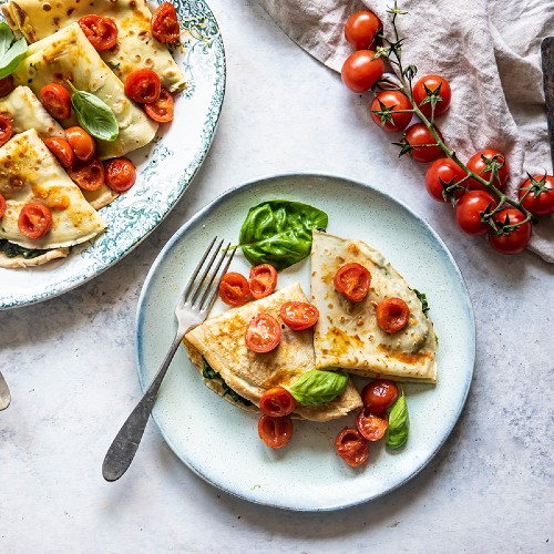 crepes alle verdure
