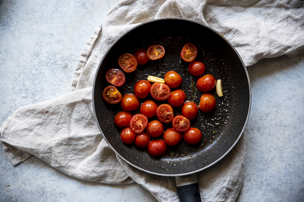 crepes alle verdure pomodorini