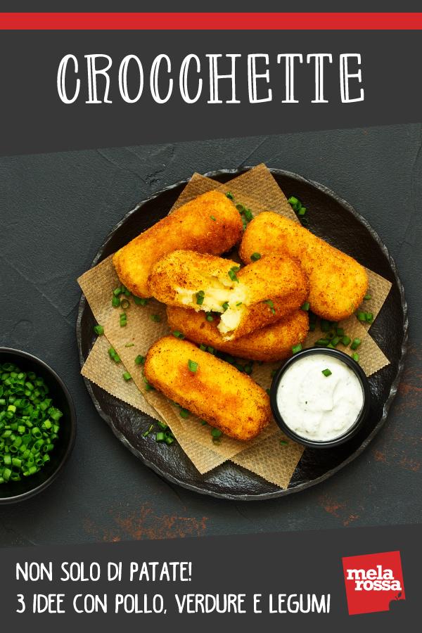 crocchette non solo patate ricette