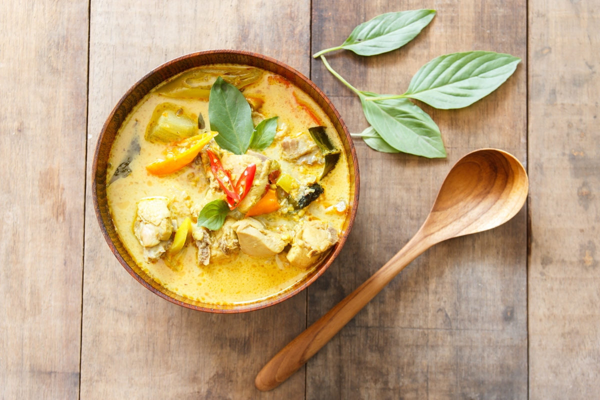curry tailandese