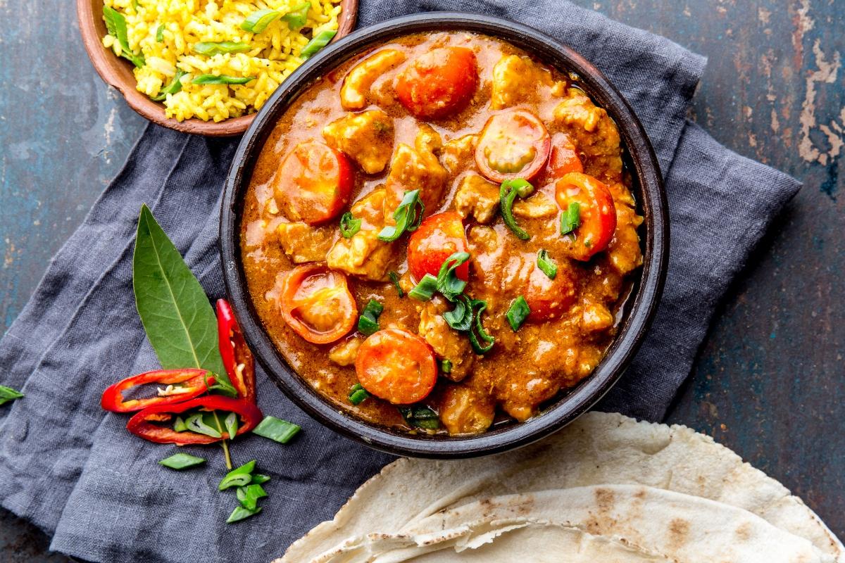tipi di curry
