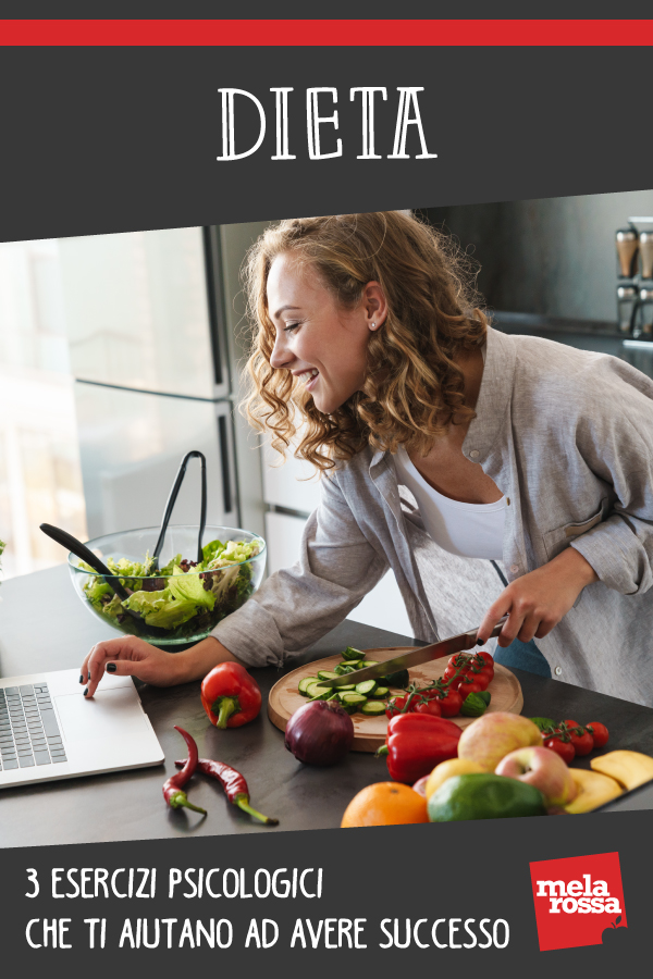 Dieta: esercizi psicologici successo