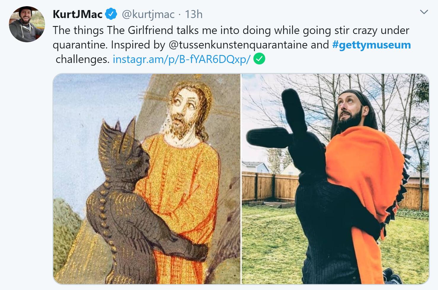 Getty Museum challenge Kurt