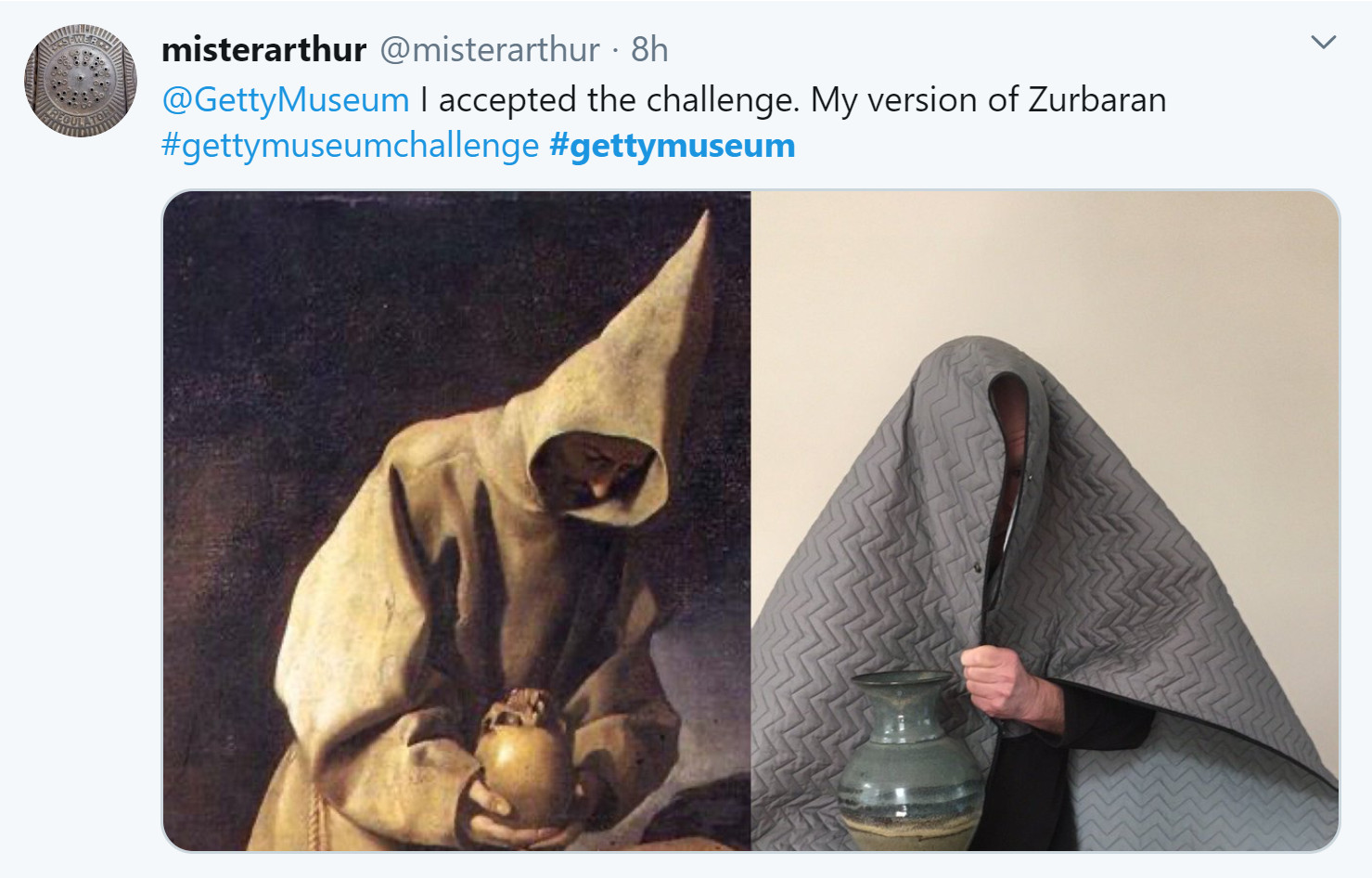 Getty Museum challenge Mrarthur