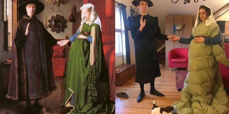 Coronavirus, il challenge del museo Getty: ricrea la tua opera d'arte preferita con gli oggetti che hai in casa. E i social si scatenano
