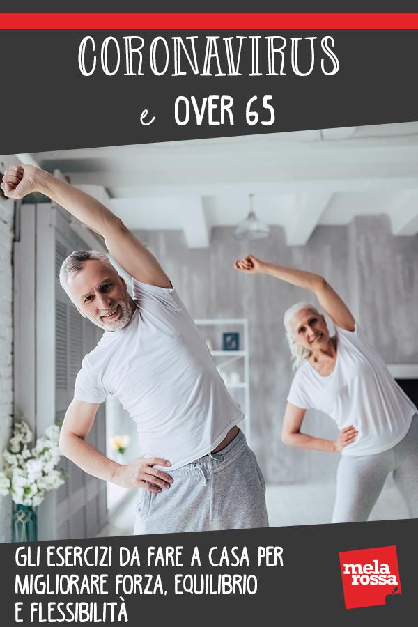 coronavirus over 65 ginnastica a casa