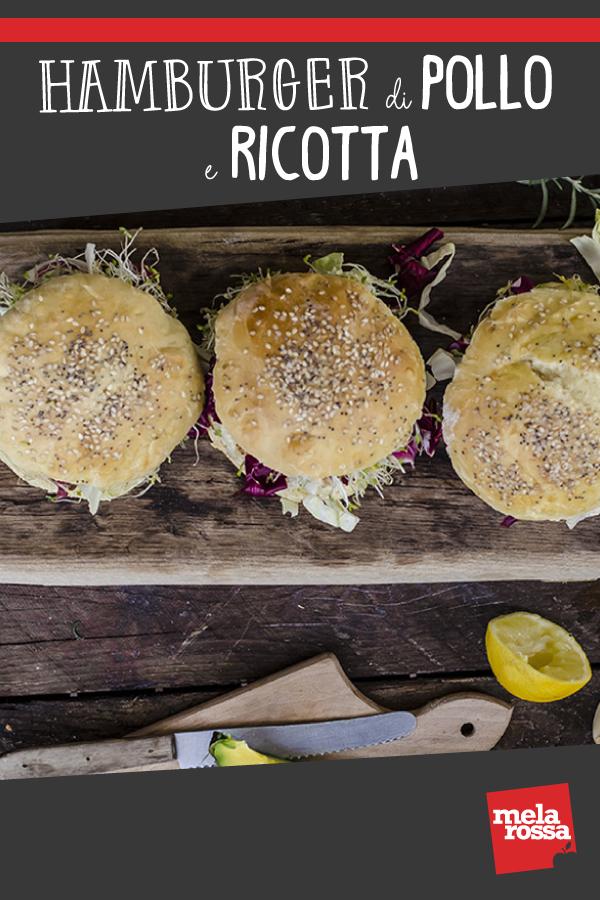 Hamburger di pollo e ricotta ricetta
