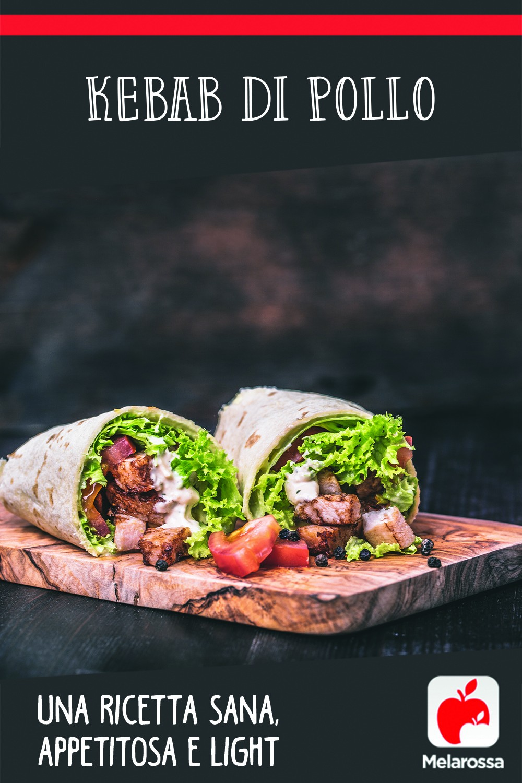 Kebab di pollo: Pinterest