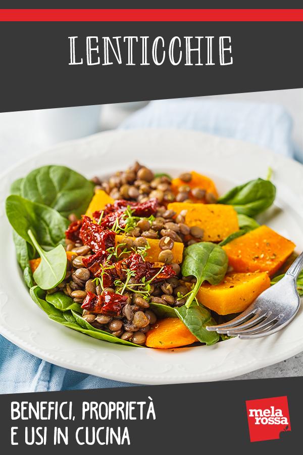 lenticchie: cvalori nutrizionali, benefici e ricette