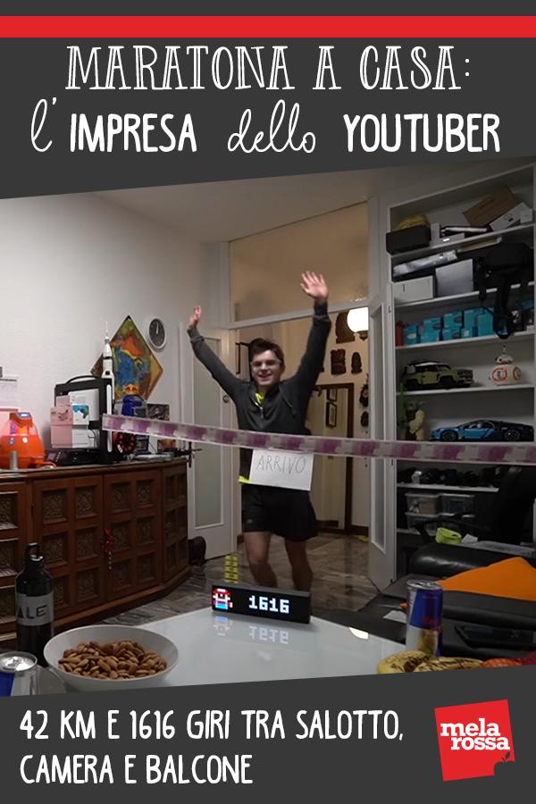 Maratona a casa Youtuber
