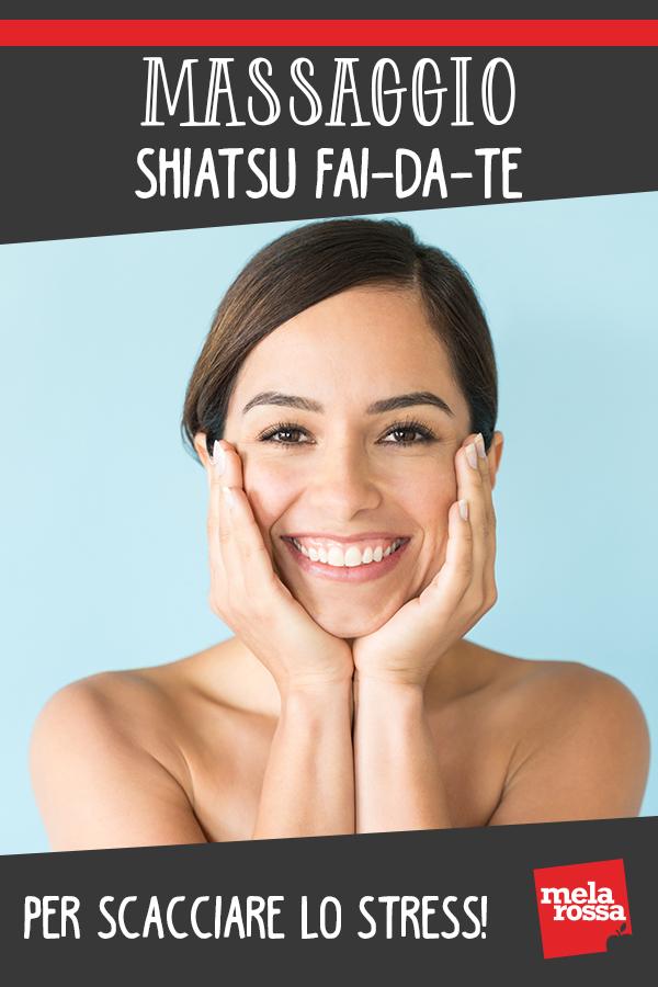 Massaggio shiatsu fai-da-te per scacciare lo stress