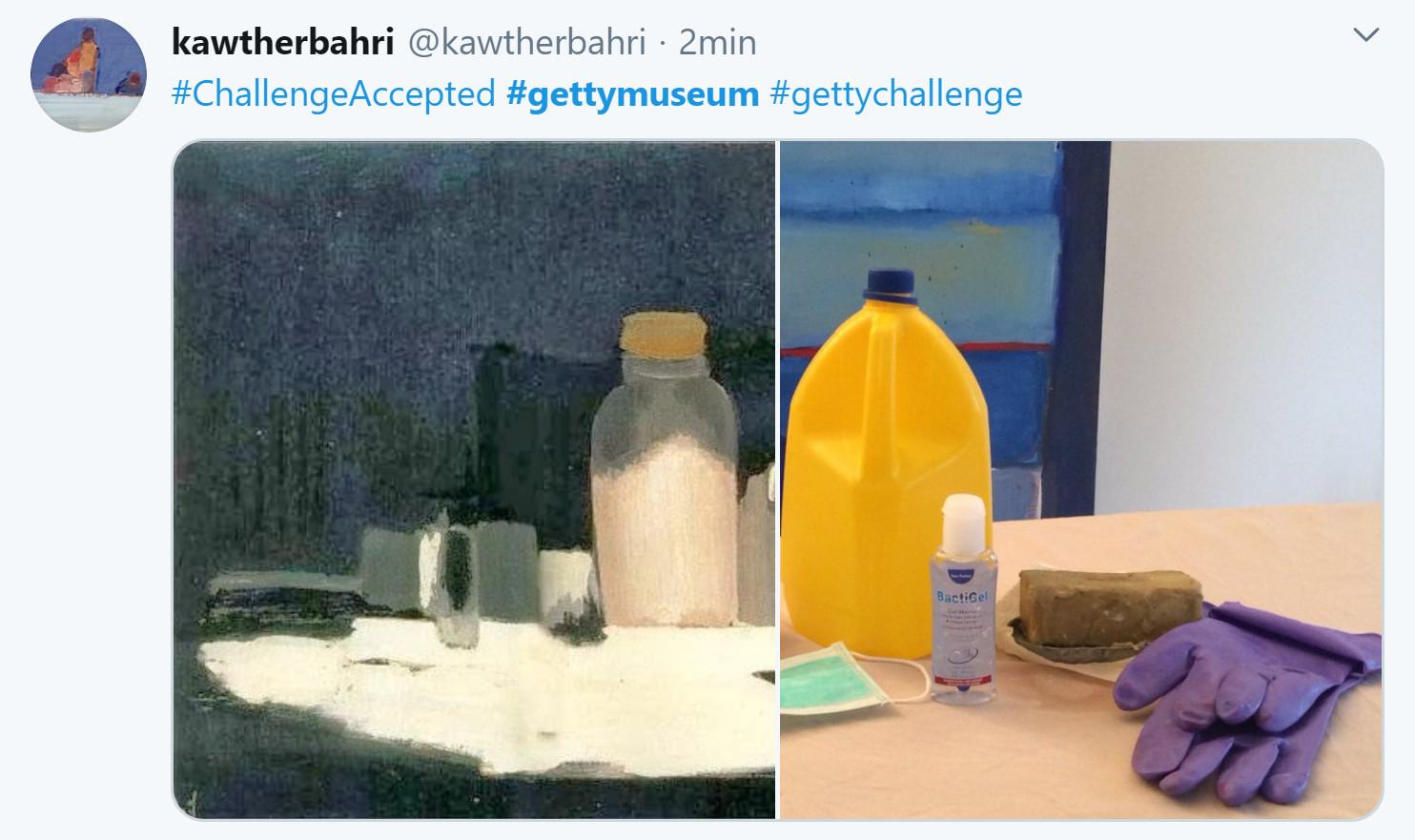 getty museum challenge kawtherbahri