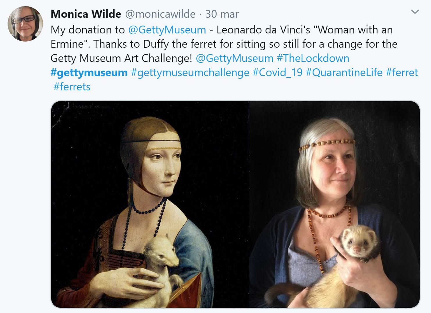 Getty Museum challenge Monica Wild Leonardo