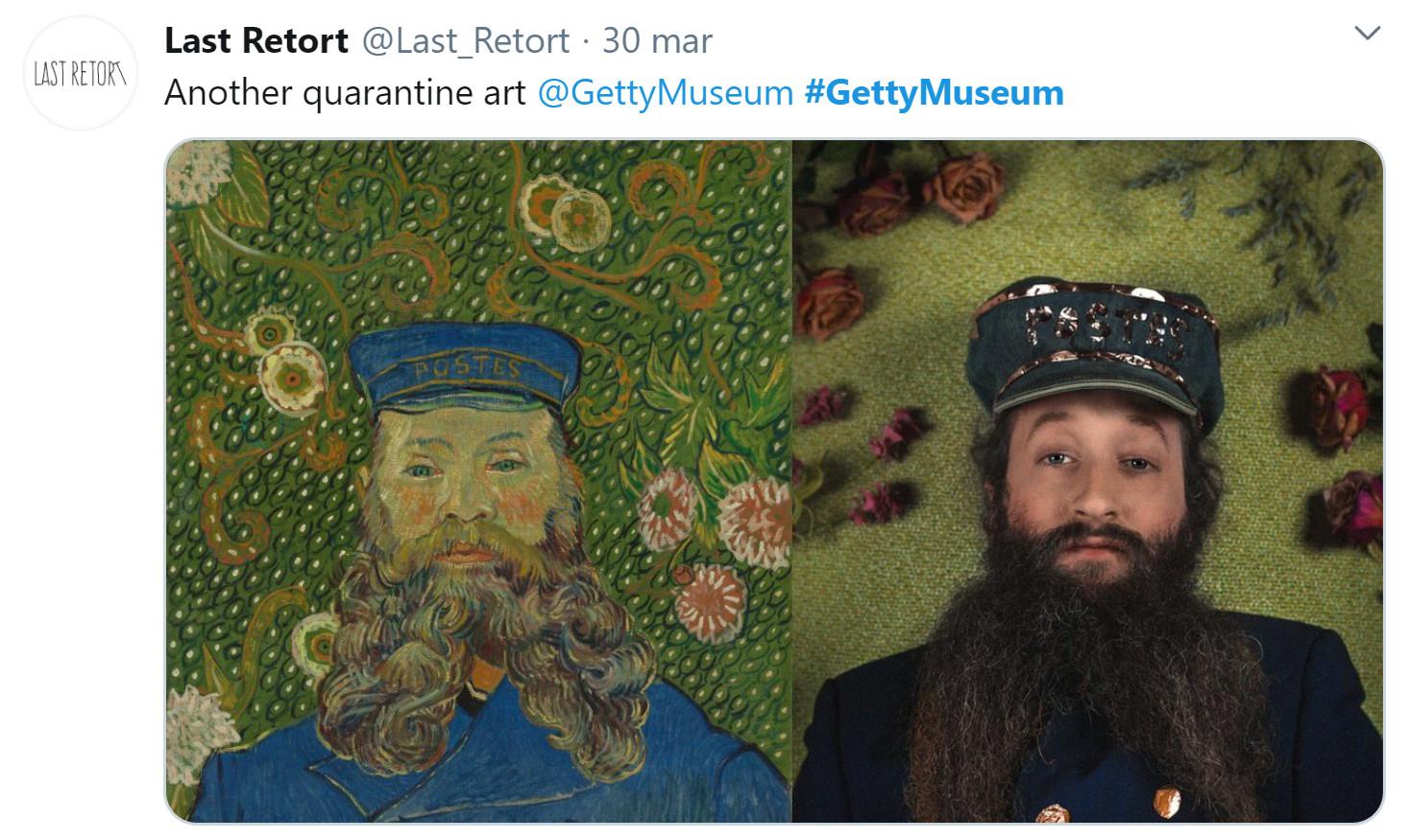 museo getty challenge last retort