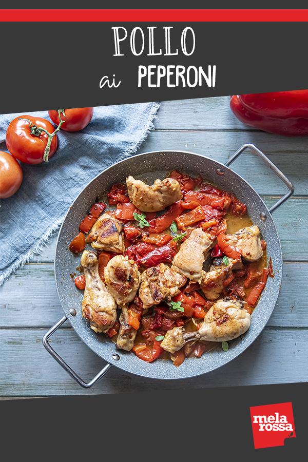 Pollo con peperoni ricetta