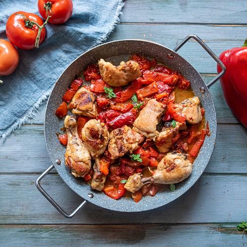 ricetta pollo con peperoni