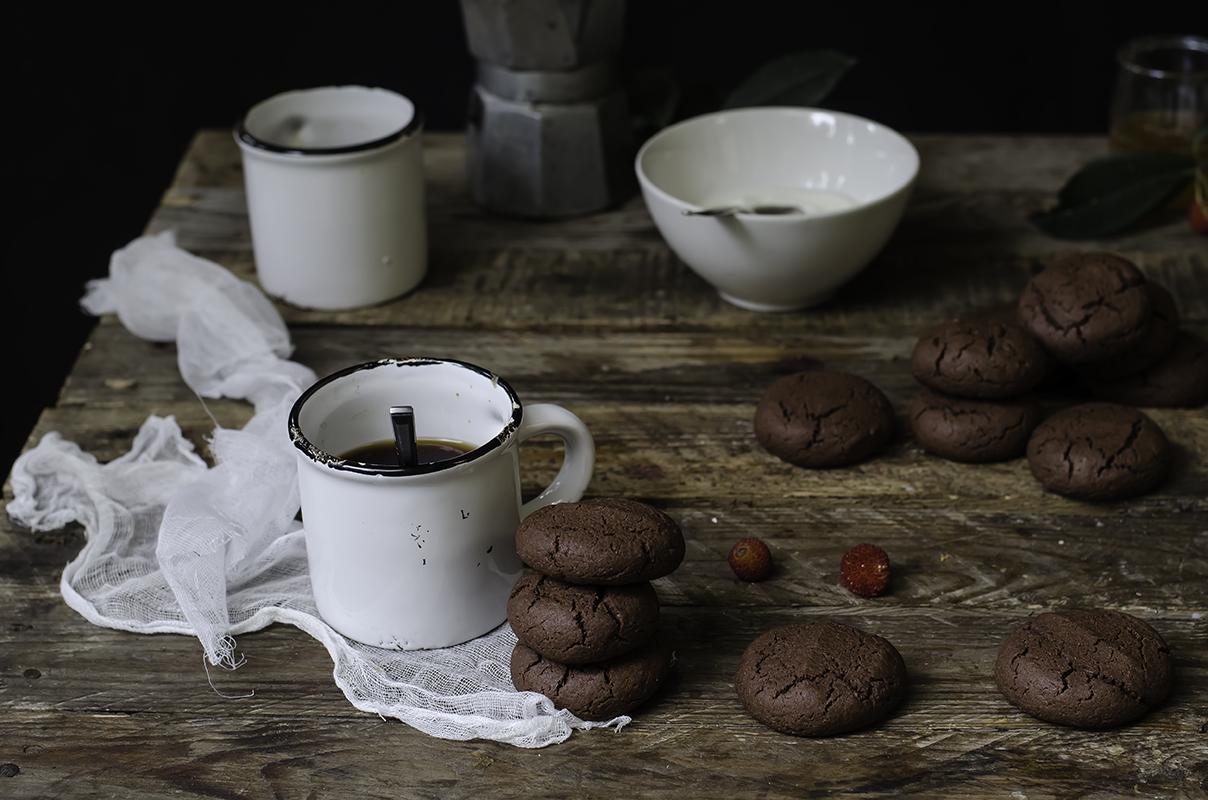 Ricette con cioccolato: biscotti al cacao
