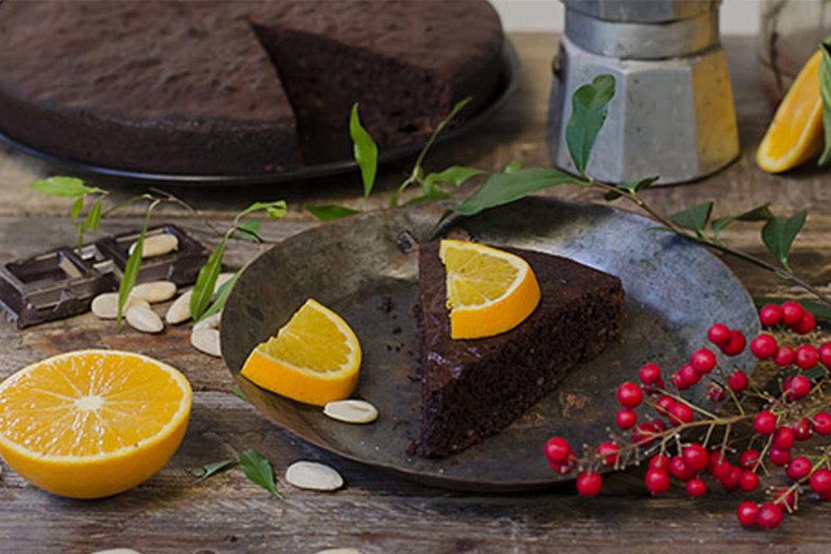 Ricette con cioccolato: torta caprese light