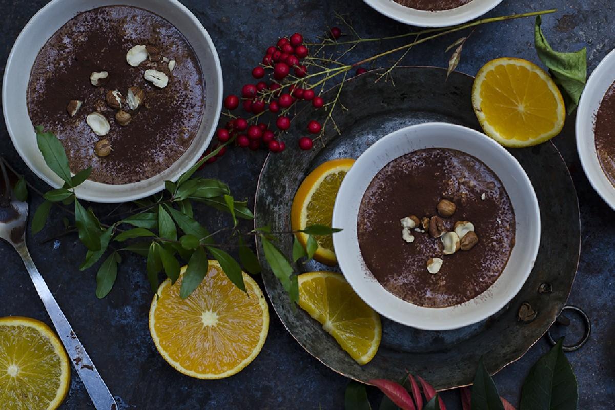 Ricette con cioccolato: mousse light al cioccolato