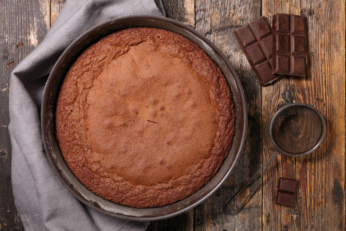 Ricette con cioccolato: torta al cioccolato