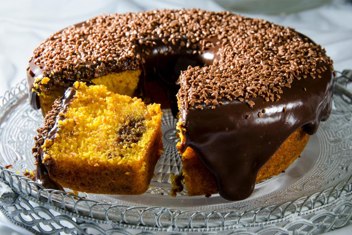 Ricette con cioccolato: torta di carote e cioccolato