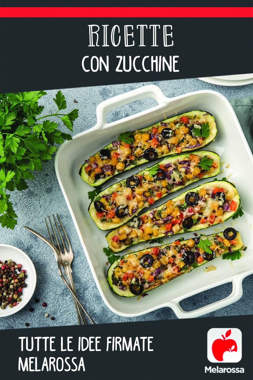 Ricette con zucchine: Pinterest