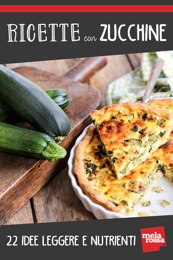 ricette con zucchine: 20 ricette light