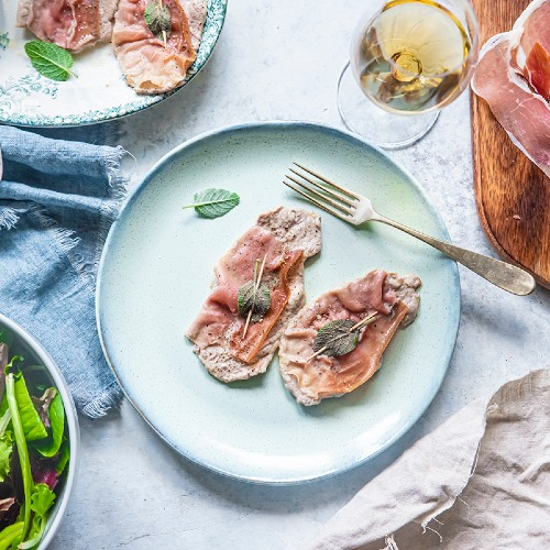 saltimbocca alla romana light