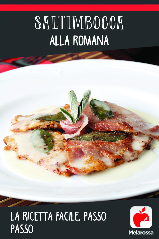 saltimbocca alla romana ricetta