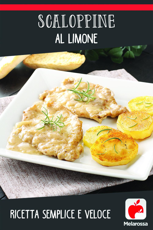 scaloppine al limone: ricetta
