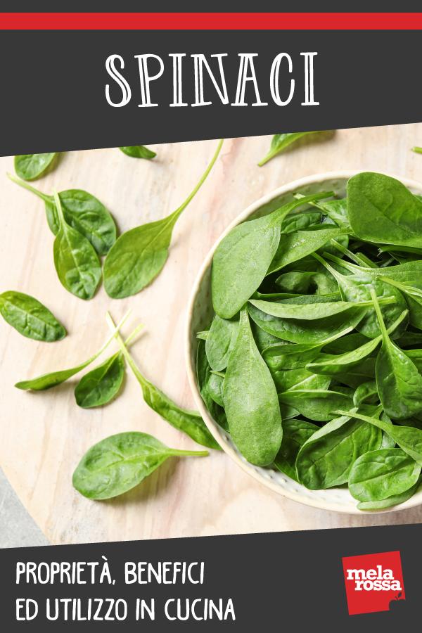 spinaci: cosa sono, valori nutrizionali e benefici