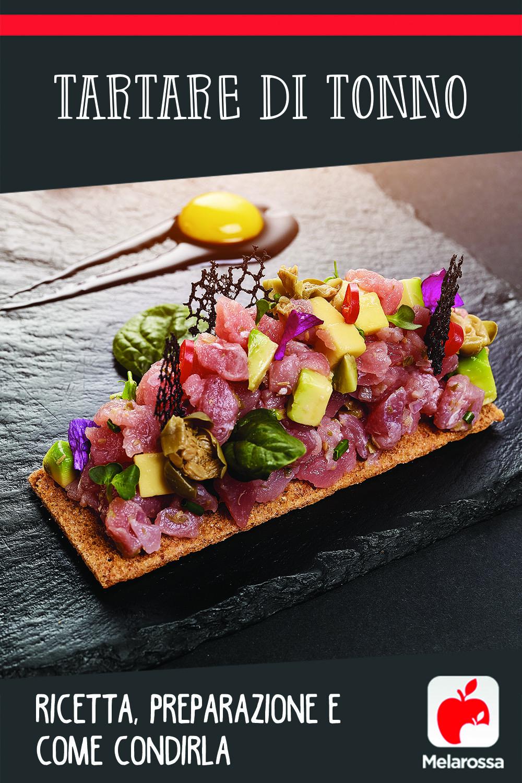 tartare di tonno ricetta