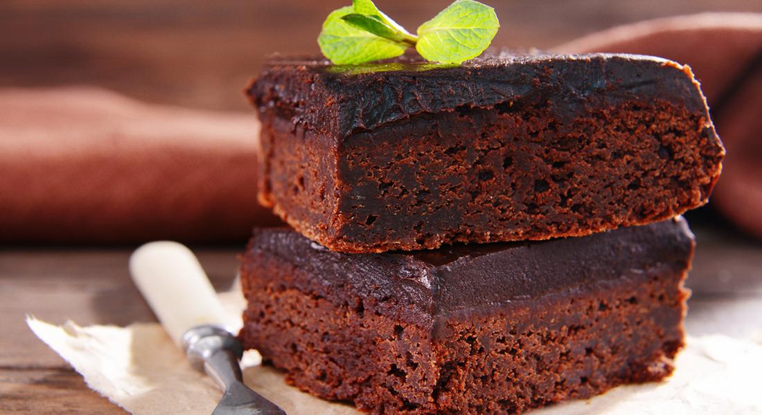 torta di cioccolato e melanzane