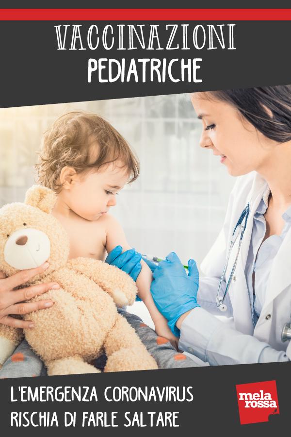 vaccinazioni pediatriche e corona virus