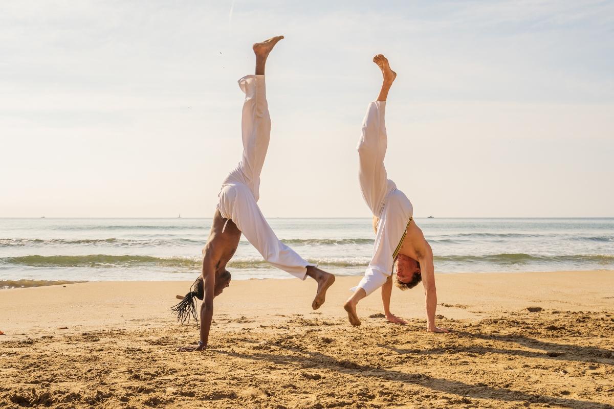 movimenti e colpi nella capoeira