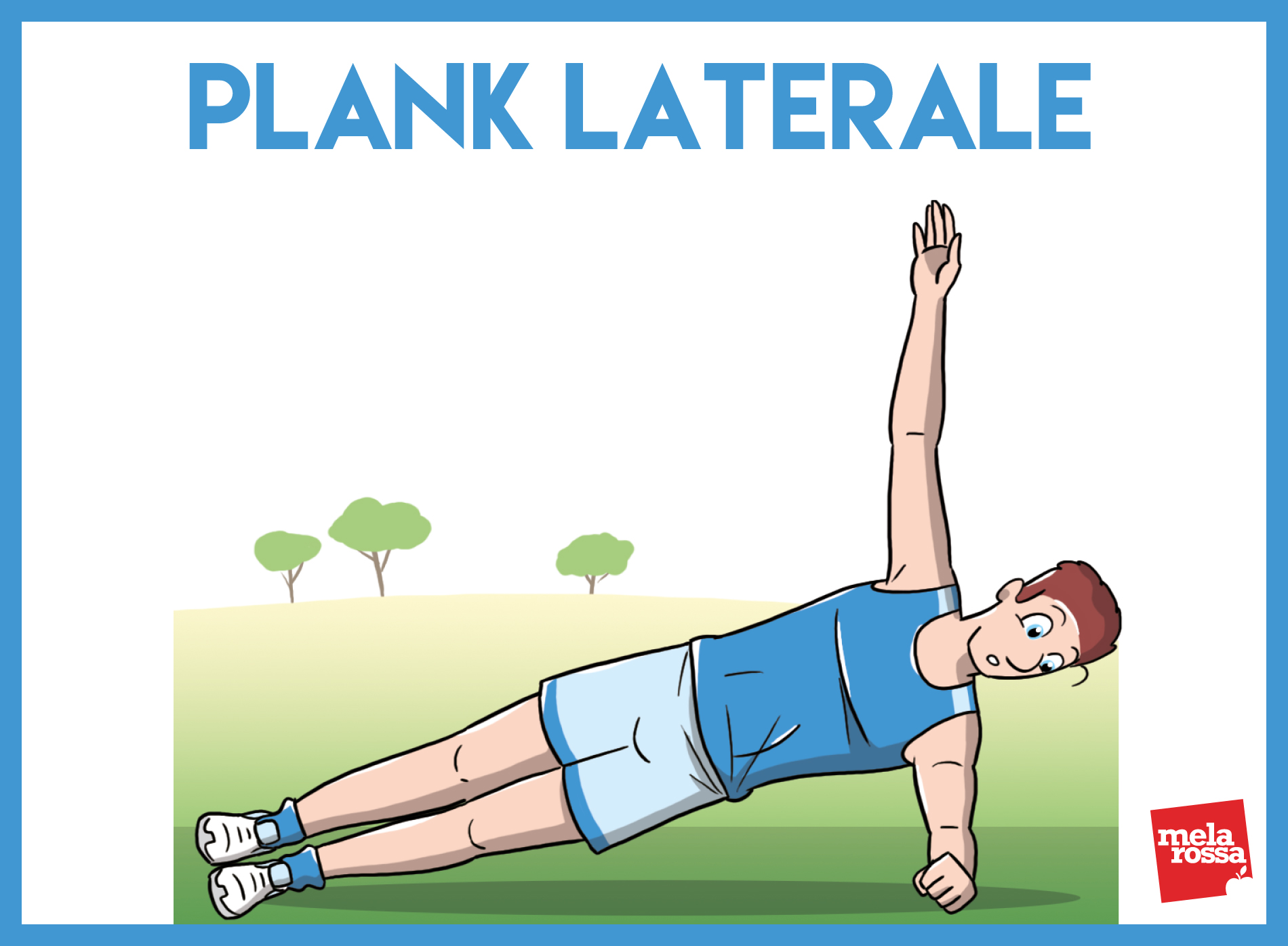 allenamento funzionale: plank laterale