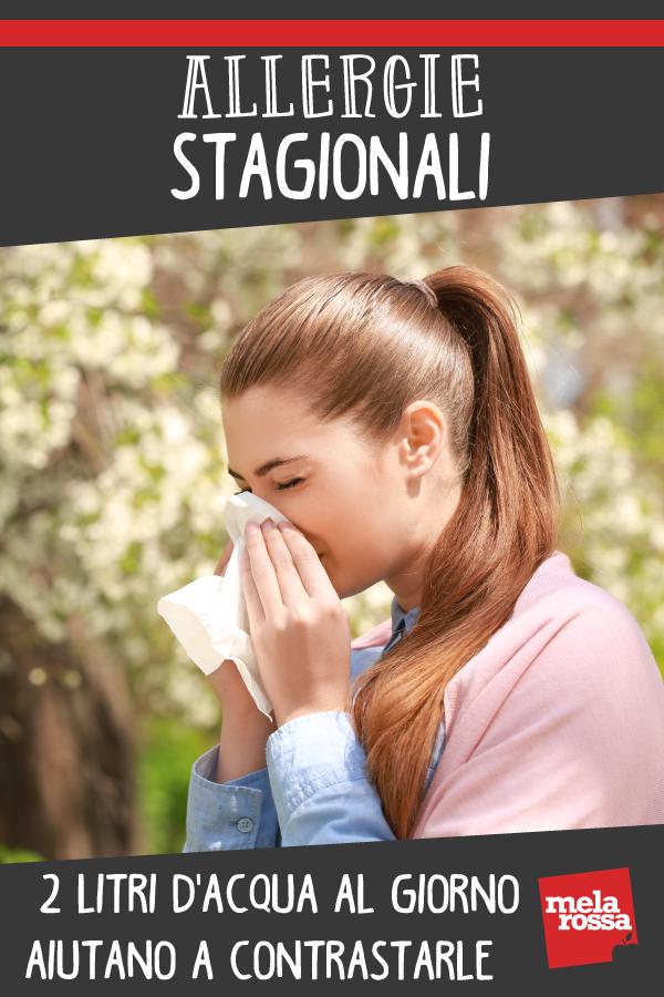 allergie stagionali importanza acqua